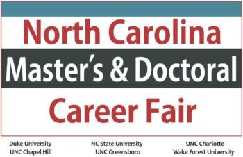 North Carolina Master's & Doctoral Career Fair